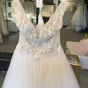 Designer wedding gown Nicole Sposa.